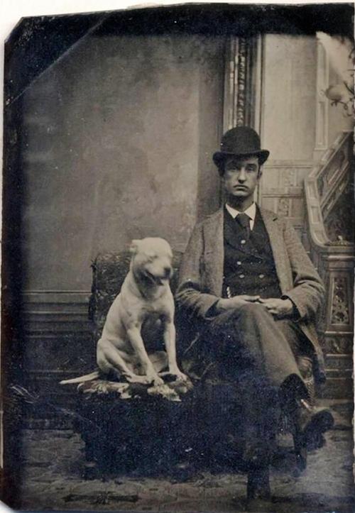 man and dog 4