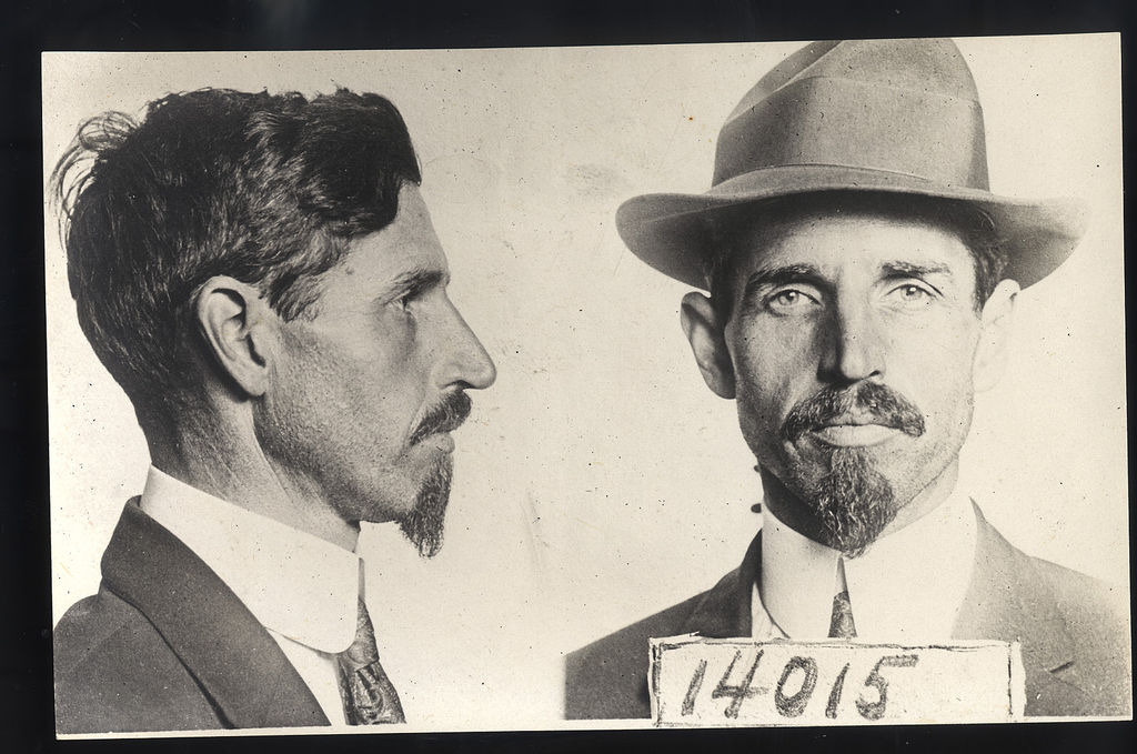 From a French Wanted Criminal poster circa 1900 – Wanted Criminal Poster