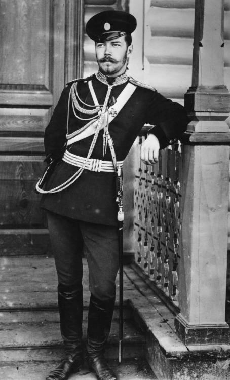 Tsar Nicholas II, looking ever so slightlylouche