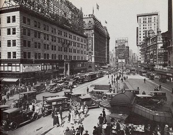 Times Square, NYC, 1920s