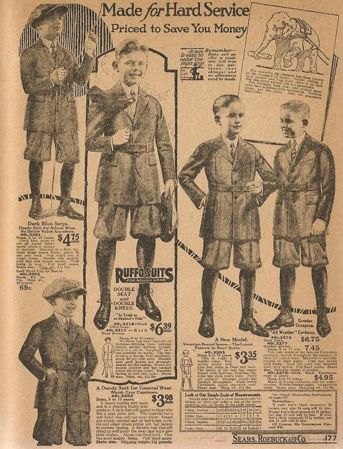 Made For Hard Service – Sears Kid Clothes,1923