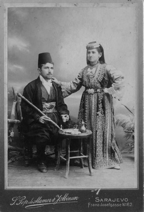Sephardic Jews, Sarajevo,1900