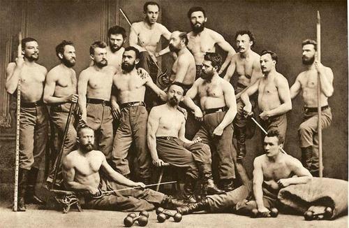 The Shirtless Men's Choir, Prague,1876