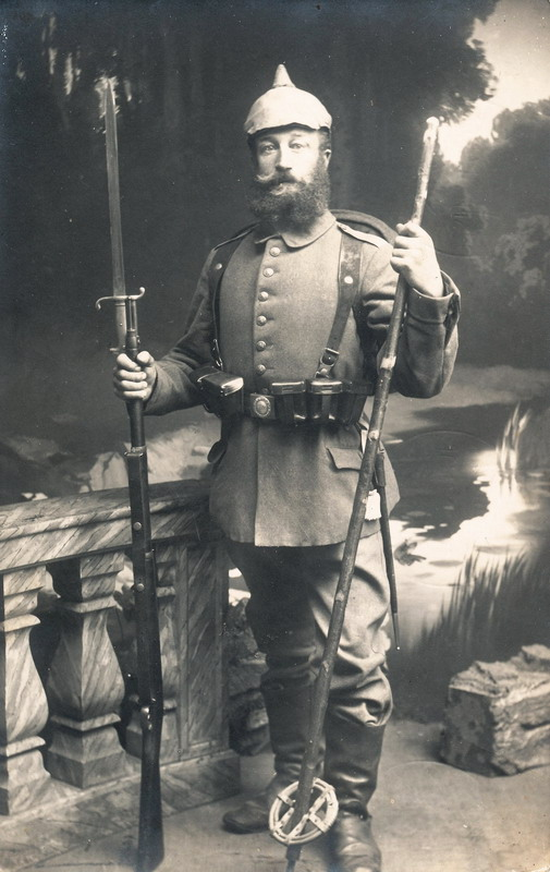 German soldier, late1800s