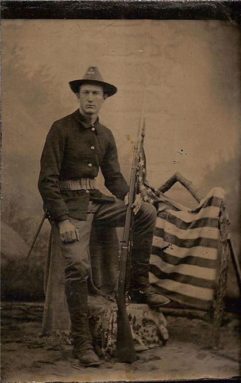 American soldier, 1800s