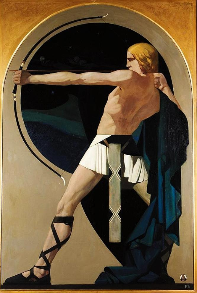 The Archer, by Adriaan J. Vant Hoff,1922