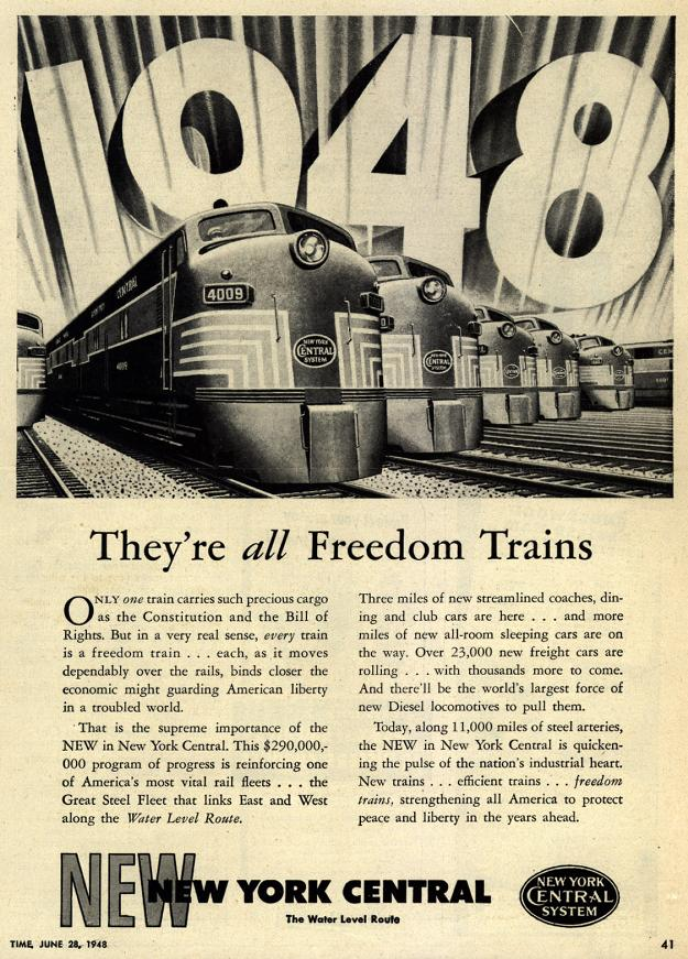 1948 – They're ALL Freedom Trains