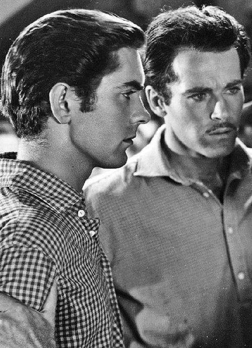 Henry Fonda and Tyrone Power,1939