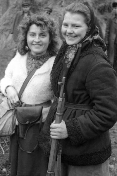 Ukrainian resistance fighters,WWII