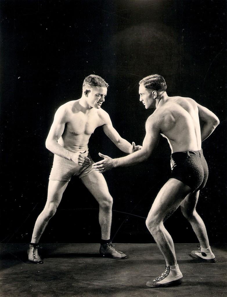 Vintage Wrestlers