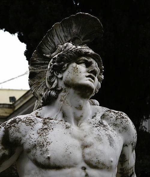 warrior statue 24