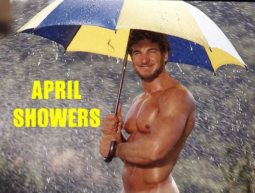 April Showers (with model Rick Wolfmeir)