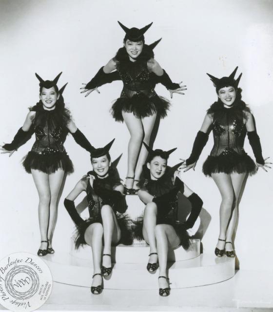 burlesque california