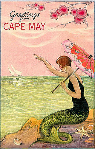 Greetings from Cape May (New Jersey), 1920s