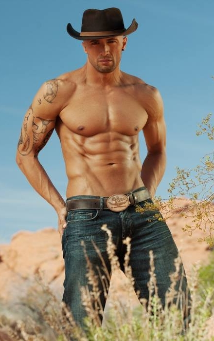 Gratuitous Shirtless Cowboy