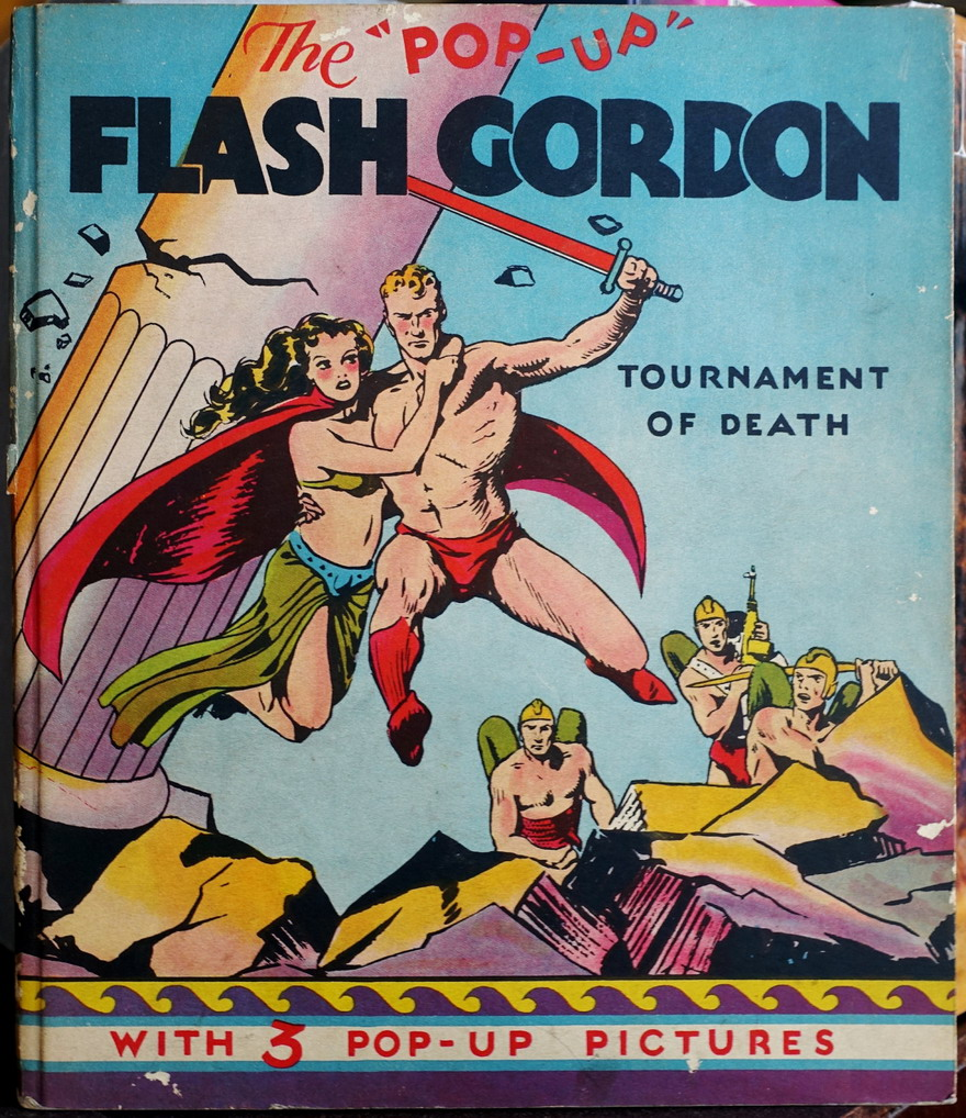 Flash Gordon Pop-Up Book