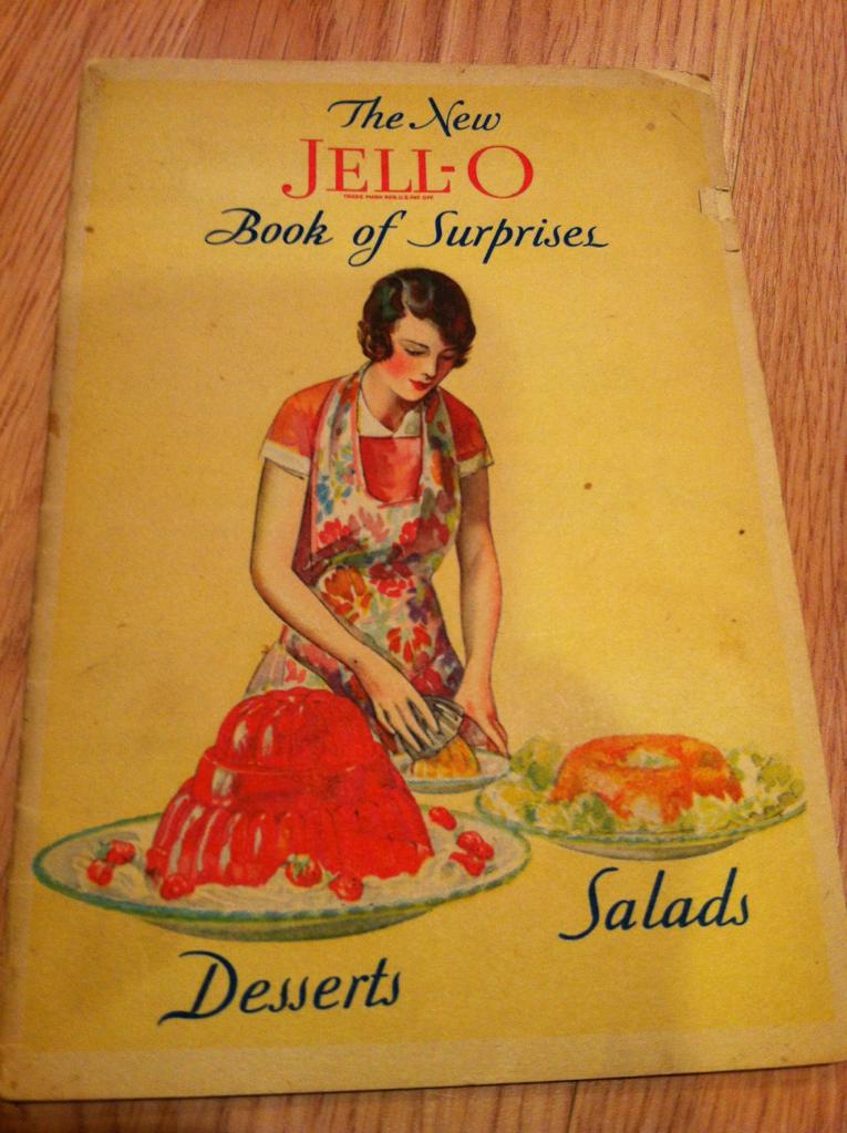 Jello Book of Surprises, circa1930