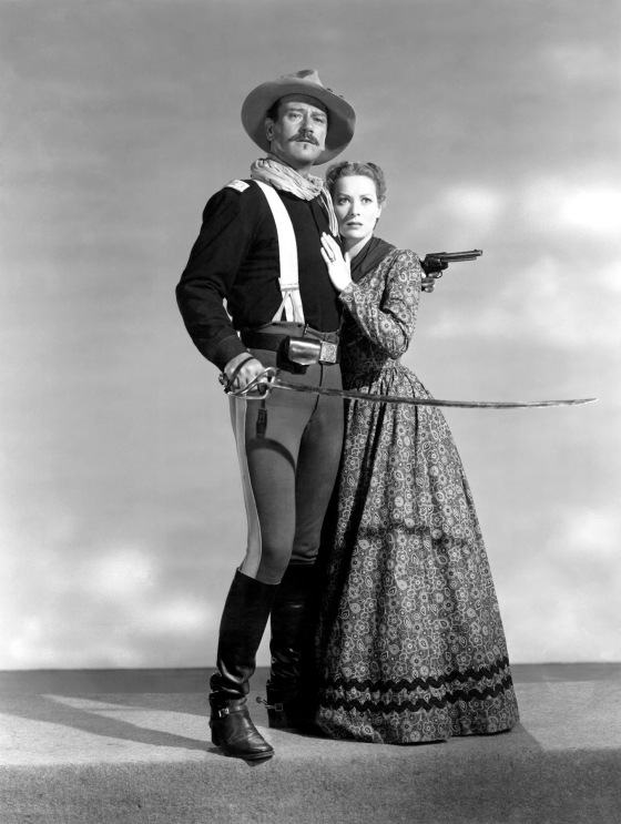 John_Wayne - rio grande - & Maureen O'Hara