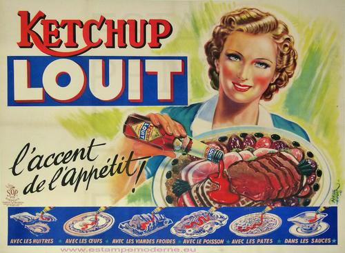 Ketchup Louit – l'accent de l'appetit!