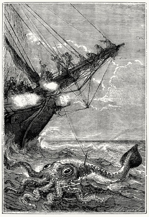 Capturing a Kraken (Giant Squid)