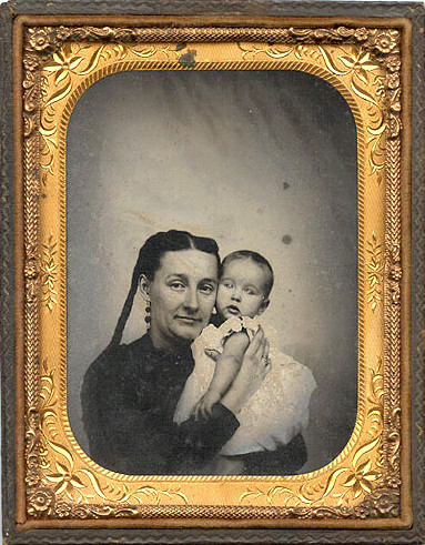 Mother and child, circa1850s