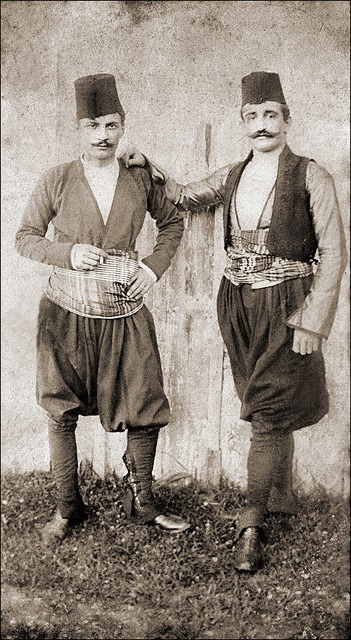 Turkish men, Ottoman Empire era