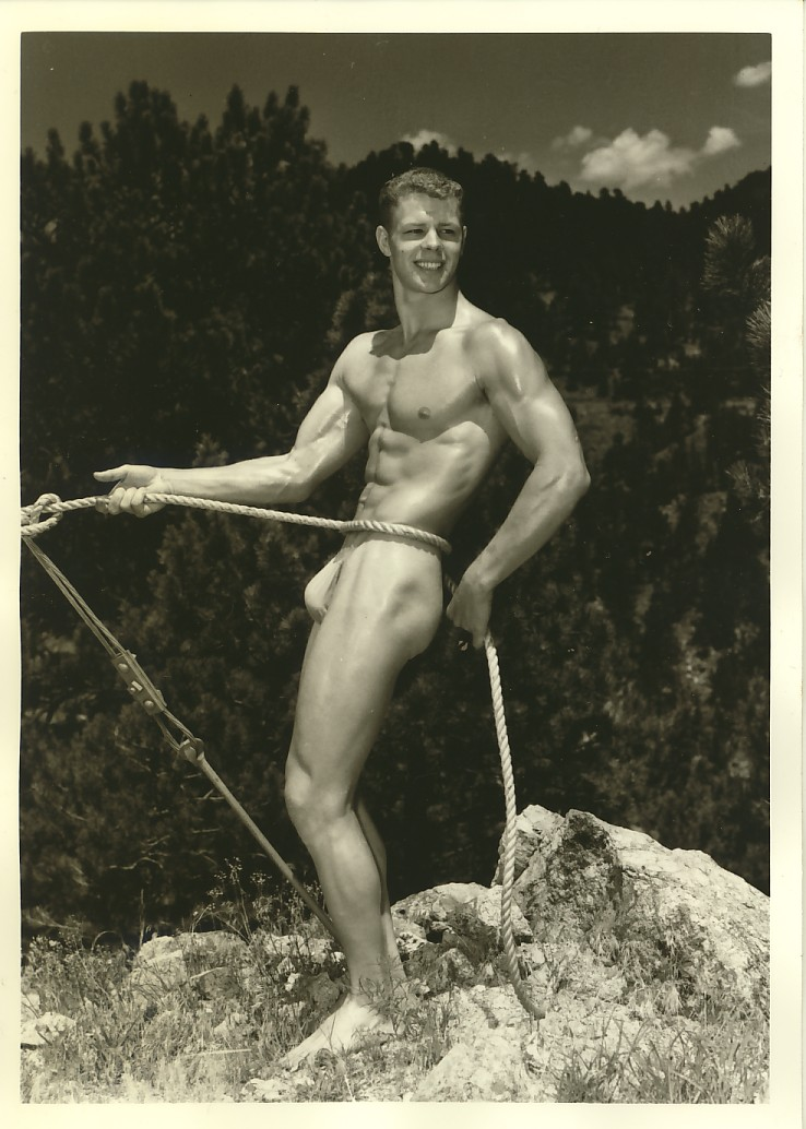 Physique model, 1950s
