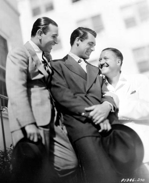 Ramon Novarro, Cary Grant, and ?
