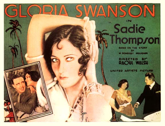 "Gloria Swanson in ""Sadie Thompson"""
