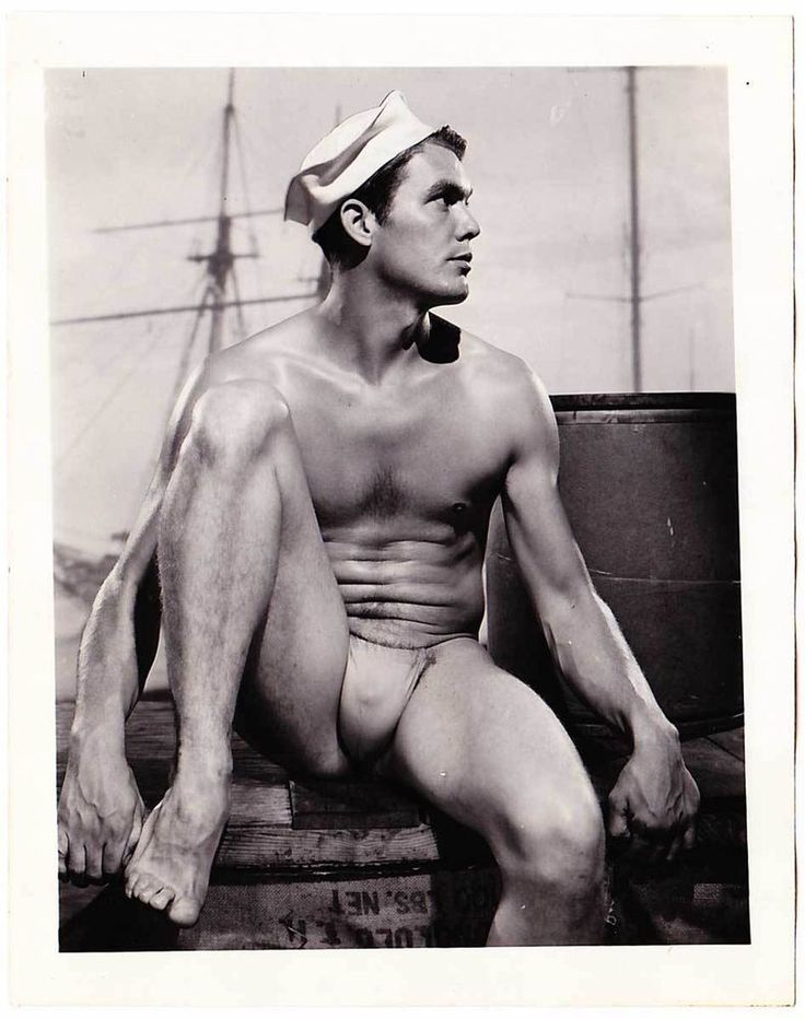 Physique Sailor Model, circa 1960