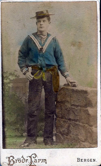 Norwegian sailor (?), 1800s