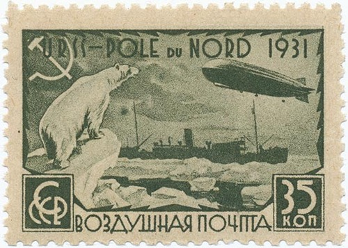 Soviets at the North Pole, 1931