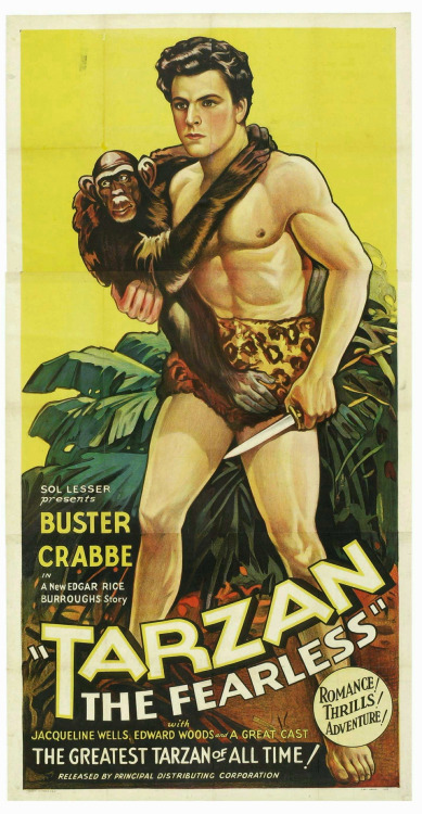 Tarzan The Fearless, starring Buster Crabbe