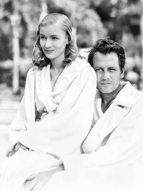 Veronica Lake and Joel McCrea,1942