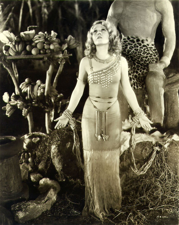 "Vivienne Segal in ""Golden Dawn"""