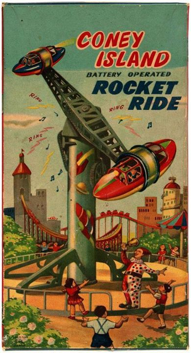 Coney Island Rocket Ride toy