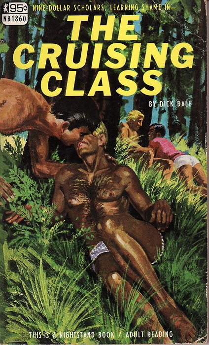 Gay pulp fiction: Nine Dollar Scholars Learning Shame in… The Cruising Class