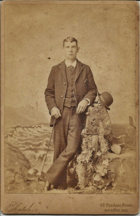 A young gentleman from New Bedford,Mass.