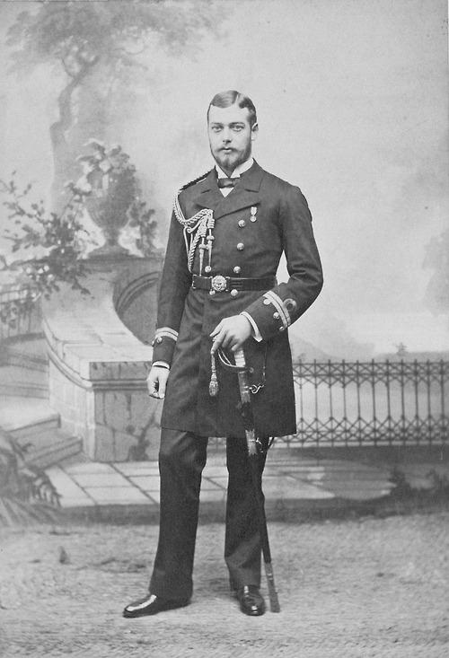 Prince George, later King George V ofUK