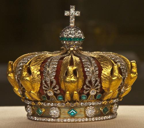 The crown of Empress Eugénie, consort of NapoleonIII.