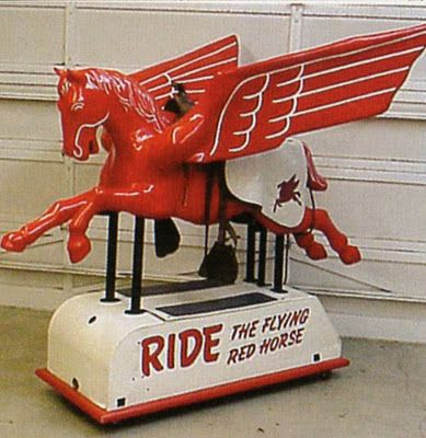 Ride the flying horse