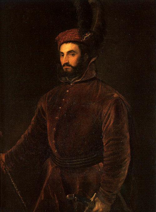 Ippolito de Medici by Titian,1500s