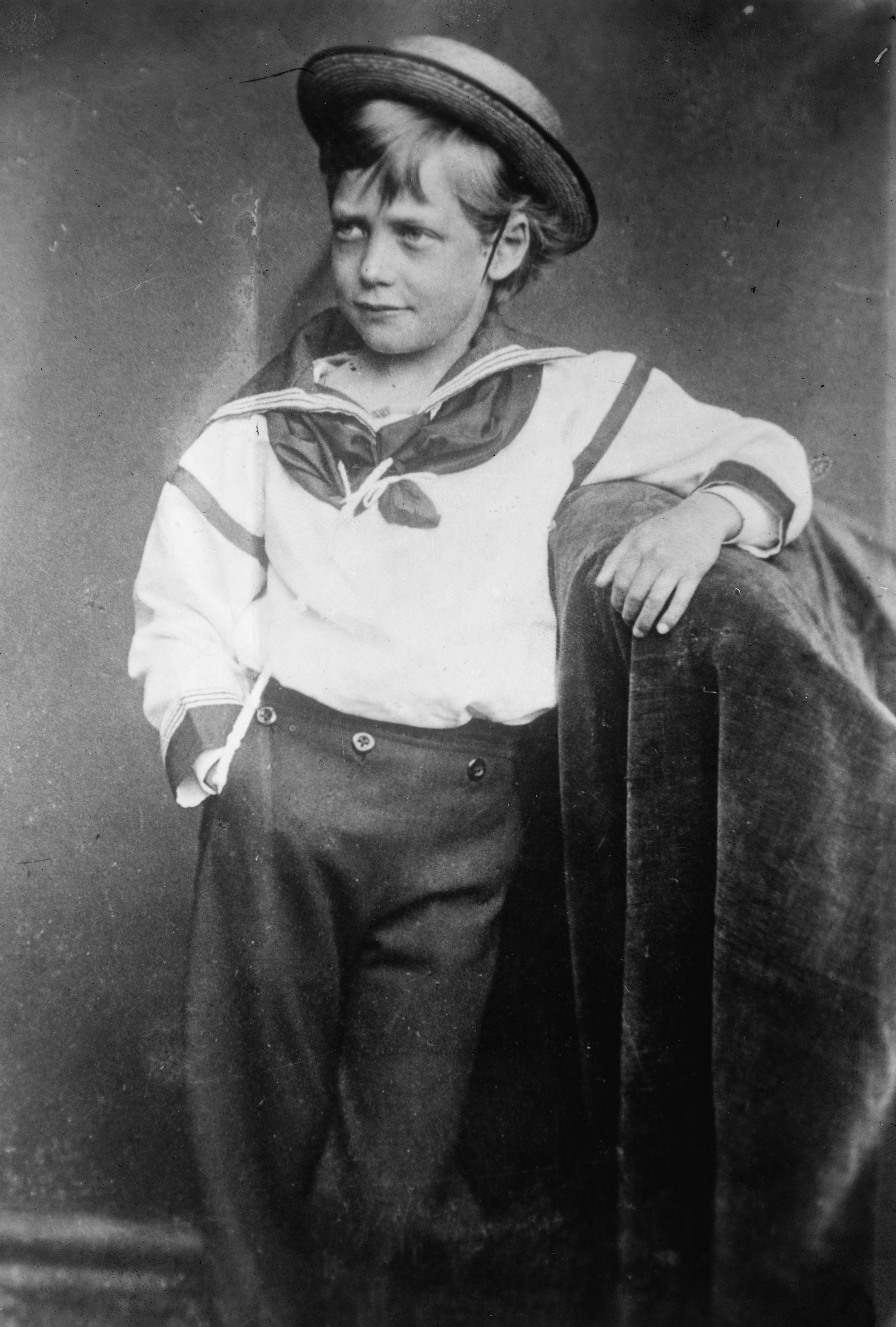 King George V as a littleboy