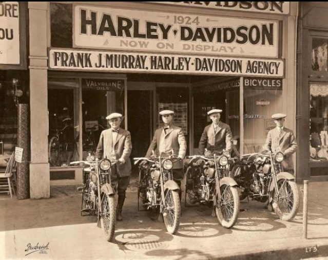 1924 Harley-Davidson dealership