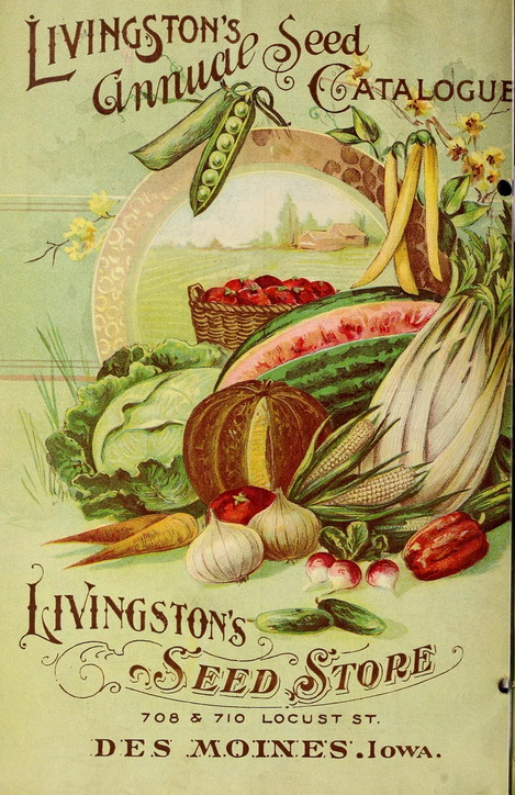 Livingston's Seed Catalogue, Des Moines, Iowa