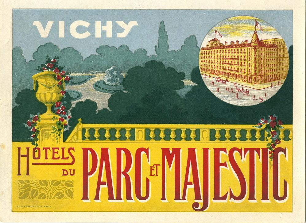 Hotels du Parc et Majestic, Vichy ,France