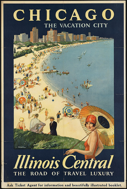 Chicago, the vacation city, 1920s
