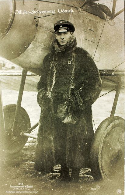 German air force pilot, WWI