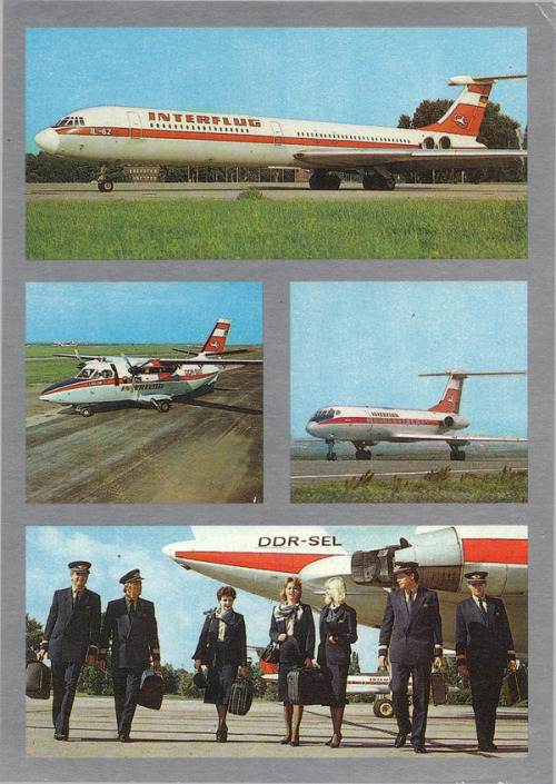 Interflug (East German Airlines)