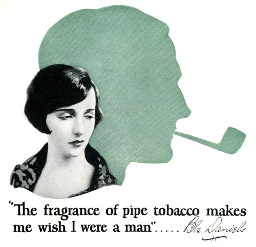 The fragrance of pipe tobacco makes me wish I were a man